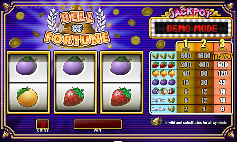bell of fortune slot machine