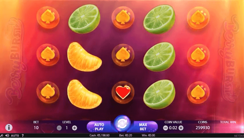 berryburst slot machine new slot machine by netent